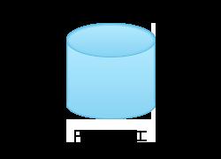 円筒絞り加工のイメージ図