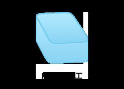 角筒絞り加工のイメージ図