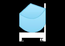 異形絞り加工のイメージ図