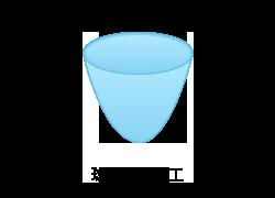 球頭絞り加工のイメージ図